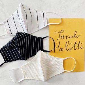 Handmade Tuxedo Bundle/Set Face Masks